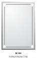 Gương Bancoot tráng bạc 5 lớp BC106