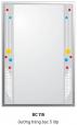 Gương Bancoot tráng bạc 5 lớp BC115