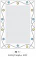 Gương Bancoot tráng bạc 5 lớp BC117