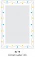 Gương Bancoot tráng bạc 5 lớp BC118