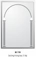 Gương Bancoot tráng bạc 5 lớp BC119