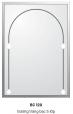 Gương Bancoot tráng bạc 5 lớp BC120